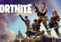 Fortnite Game--Royal rumble in action